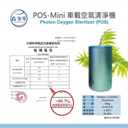 POS-Mini 車載空氣清淨機