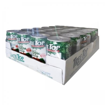 〔美式賣場〕Tree Top 蘋果汁 320毫升 X 24罐