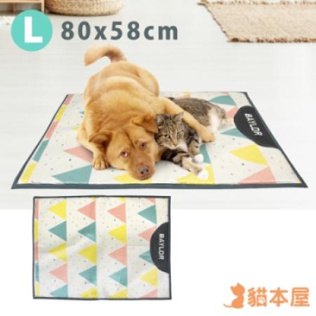 貓本屋 冰絲寵物涼墊(L號/80x58cm)