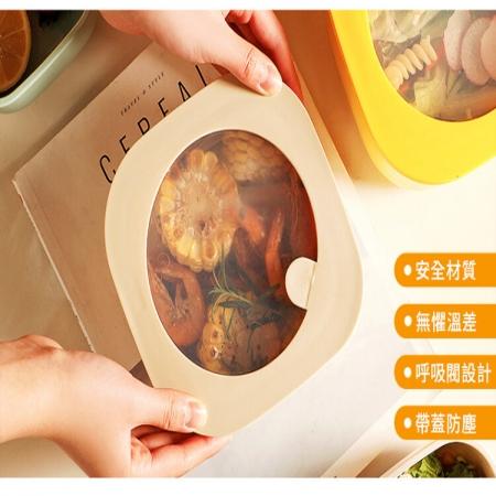 【DaoDi】第二代冷熱微波保鮮盒-尺寸2L(便當盒 飯盒 餐盒)