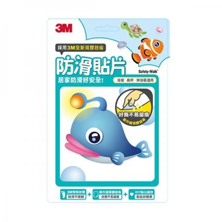 3M 防滑貼片 - 海洋生物(6片/盒)