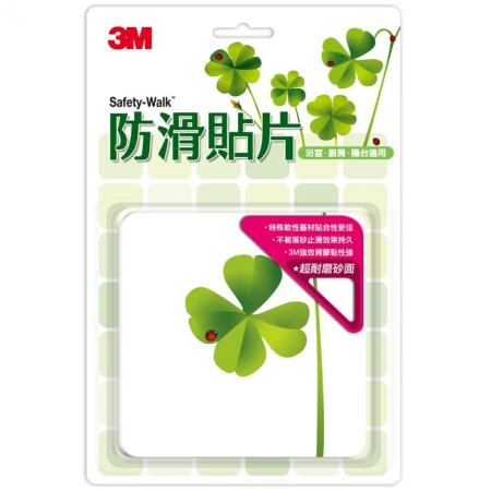 3M 防滑貼片 - 植物2入組(6片/盒,共12片)