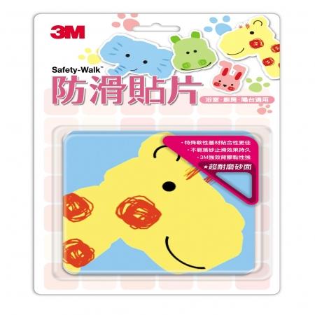 3M 防滑貼片 -動物6片+ 可愛動物 6片 (共12片)
