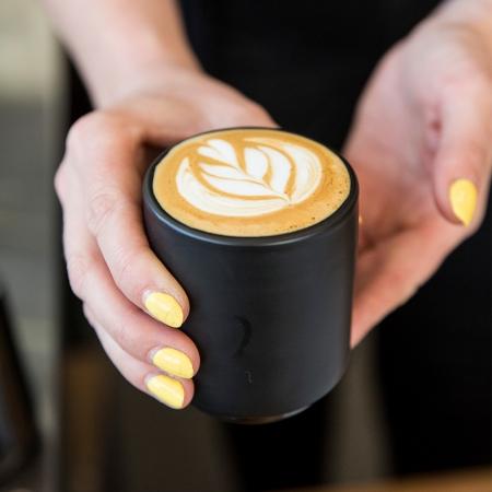 FELLOW MONTY 雙層陶瓷咖啡拉花杯(4.5OZ 告耳杯/2色)