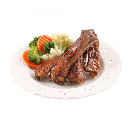 【愛上美味】BBQ和風炭烤豬肋排